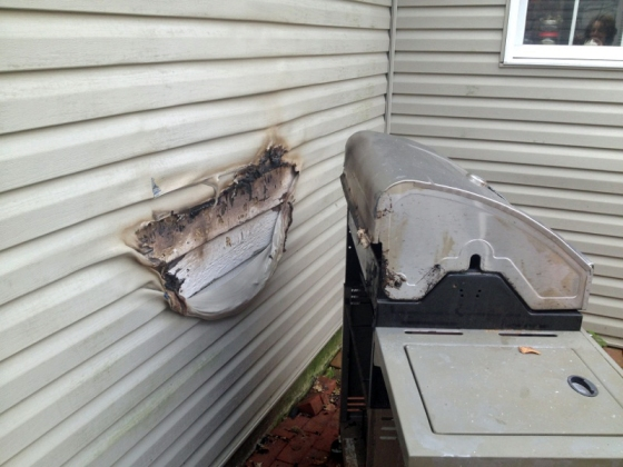 That's one melted house